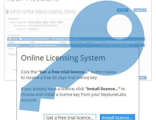 New, convenient Online Licensing System